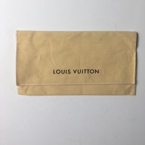Louis Vuitton flap over dust bag